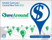 Greater Syracuse / Central New York 2013 SaveAround Coupon Book
